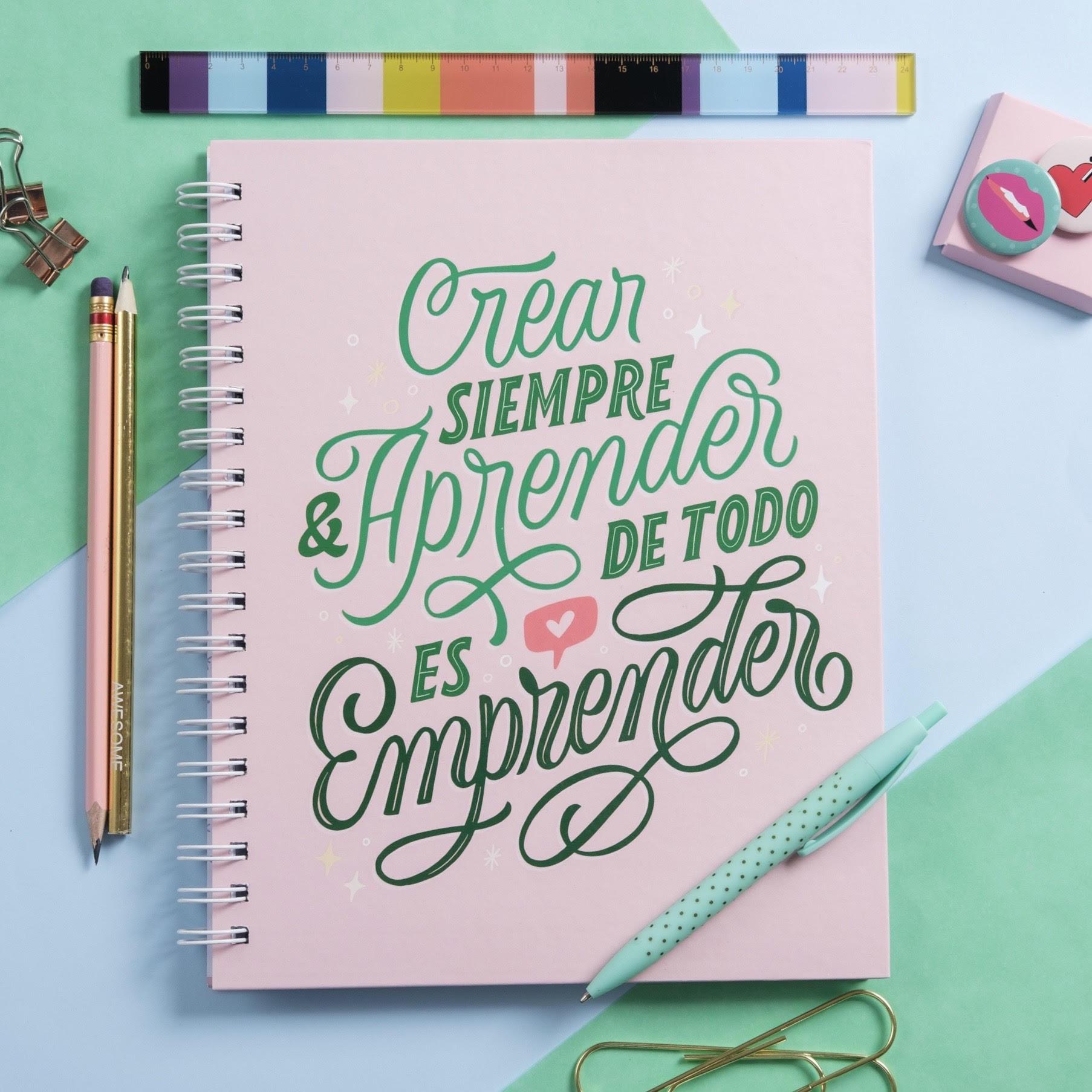 Lettering_Fera_Cuaderno Emprender_Caro Marando_1