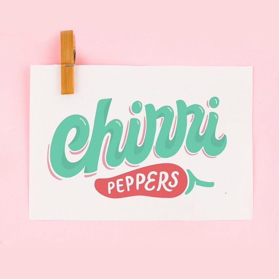 Lettering_Logo_Chirri Peppers_Caro Marando2